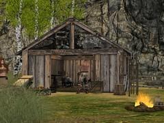 forge (Dag in SL) Tags: secondlife gorean torvaldsland village gorsecondliferegionneithsecondlifeparcelhlidskjalfvillageandmistiquemainstoresecondlifex222secondlifey145secondlifez23