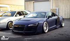 Boden R8 (_dpod_) Tags: audi r8 boden auto bagged stance low fitment rotiform