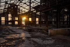 Drapetsona-Greece, abandoned fertilizer factory (Magganaris Manolis) Tags: drapetsonagreece abandoned fertilizer factory sunset nikon nikkor 1685 d7100 greece drapetsona old view sun