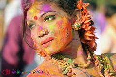 IMG_0047 (anupamadhikary) Tags: colorful holi utsav basanta dol 2015 santiniketan