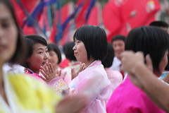 National Day Dancing (Ray Cunningham) Tags: day north korea national pyongyang dprk