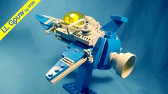 LL Gouw - Back/Left side detail shot (WSM_) Tags: classic lego space spaceship neo spacecraft classicspace neoclassicspace
