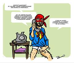 rivolte a progettomini (ilsuperdisoccupato) Tags: italia fumetti bruno satira socialismo larepubblica crisi disoccupazione precariato superdisoccupato