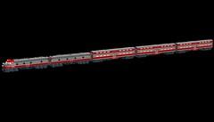 Wisconsin & Southern Excursion Train (wildchicken_13) Tags: railroad car wisconsin train gallery lego cab engine southern commuter locomotive passenger excursion e9 moc bilevel ldd emd wsor eunit e9a e9b wildchicken13