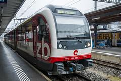 Interlaken Ost (webeagle12) Tags: railroad alps station train switzerland europe swiss rail zb berne ost bernese interlake oberland susse zentralbahn nikond90 1685mm