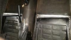 Seat Rails Cleaned