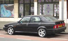 1991 Alfa Romeo 75 3.0 V6 Quadrifoglio Verde (rvandermaar) Tags: verde 30 alfa romeo 1991 75 alfaromeo v6 qv quadrifoglio alfa75 alfaromeo75 ar75 sidecode5 dgdb61