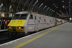 Virgin Trains East Coast DVT 82212 (Will Swain) Tags: city uk england london station train coast march driving cross britain south centre central trains east virgin kings greater trailer van 26th dvt 2015 82212