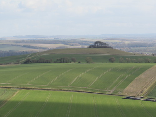 Alton Barnes: View of the Vale of Pewsey (Wiltshire)