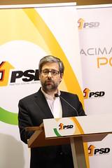 Eleições Madeira: Marco António Costa em declarações à imprensa