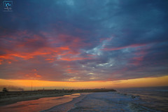 sky (MODY.G Photographer) Tags: blue sunset red sea sky orange port canon photography egypt said الله سبحان صورة coloers
