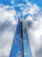 The top of the Shard (Kirsi L-M) Tags: uk london theshard