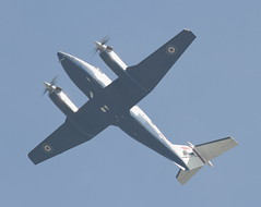 King Air 3 20150424 (Steve TB) Tags: canon pda beechcraft raf kingair coningsby eos7d