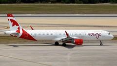 Air Canada Rouge - C-FJQH - A321-211 (Charlie Carroll) Tags: tampa florida tampainternationalairport ktpa