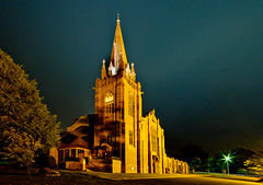 IMG_2505 (Roy Wales) Tags: longexposure urban st canon lights nightscape religion churches andrew steeple canberra archetecture act presbyterian nationalcapital
