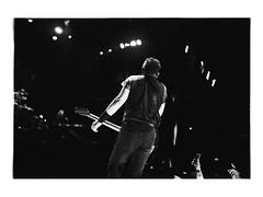 . (nicole's blues) Tags: barcelona blackandwhite film analog concert spain brucespringsteen fujineopan400 nikonfm nicolesblues nicolettabranco