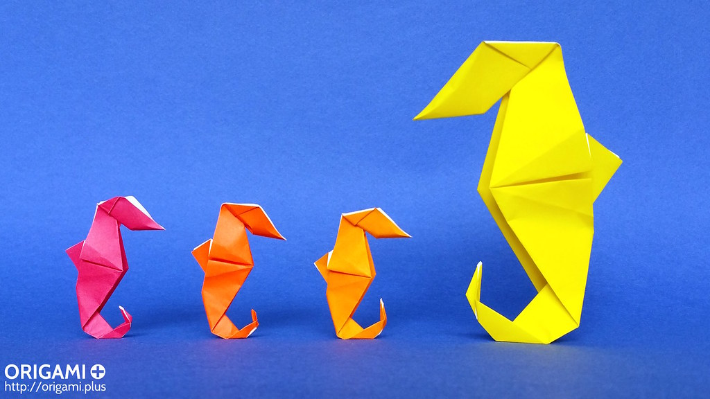The Worlds Best Photos Of Origami And Seahorse Flickr Hive Mind