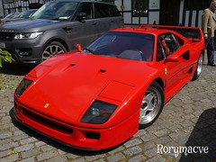 1989 Ferrari F40 (Rorymacve Part II) Tags: auto road bus heritage cars sports car truck automobile estate transport ferrari historic motor saloon compact roadster f40 motorvehicle ferrarif40
