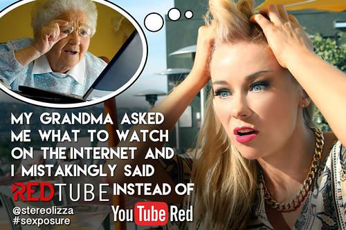 RedTube vs. YouTube Red - Stereolizza Sexposure Meme