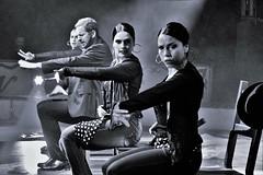 Spanish dancer (heiko.moser) Tags: city people bw woman man blancoynegro canon person mono blackwhite eyes women leute noiretblanc candid tnzer nb menschen sw bern mann monochrom publicity potrait schwarzweiss spanisch nero youngwoman personen nock spanishdancer zirkus einfarbig schwarzweis eyecatch blackwihte entdecken heikomoser