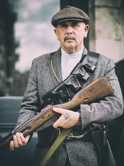 Irish Freedom Fighter (Al Fed) Tags: dublin irish easter freedom centennial gun fighter independence reenactment uprising 20160426
