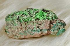 Cuprosklodowskite (Archangem) Tags: rock stone crystal pierre vert mineral geology cristal gem specimen gemstone cuivre geologie gemme minraux minerai prcieuse cuprosklodowskite gemmologie cristallographie
