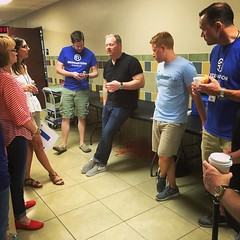 Huddle up time prior to worship and tailgate! #mobilechurch #serveteam #community #teamwork #edmond (rcokc) Tags: up community worship time tailgate huddle edmond teamwork prior mobilechurch serveteam