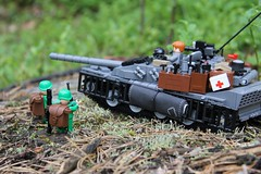Summer offensive in march 5th 2083 (oliverstrm) Tags: tank lego legotank
