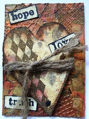 Vintage Heart-ATC-available (T.Goller) Tags: art atc collage mixedmedia