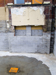 The moat is dry (geowelch) Tags: toronto sherbourne urbanfragments olympuspenepl5