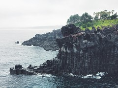 (gail m tang) Tags: cliff island south korea jeju jejudo jusangjeolli