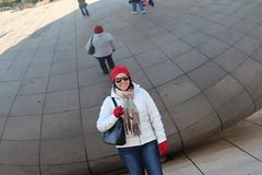 IMG_6193 (Panda and Penguin Adventures) Tags: park sculpture chicago canon illinois milleniumpark cloudgate efs1755mmf28isusm