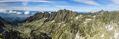 Panorama1 (gubernat) Tags: summer panorama green landscape pass ridge granite summit slovakia peaks gry tatry tatras gully tatrahigh