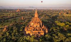 Sulamani Temple, Bagan, Myanmar (maxunterwegs) Tags: aerial aerialimage aerialphoto bagan balloonsoverbagan birma birmania birmanie burma dawn hdr heisluftballon hotairballoon luftaufnahme luftbild montgolfire myanmar sulamani sulamanitemple tempel temple templo tonemapped tonemapping mandalayregion