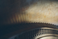 Granada, Spain - Stairs (Regan Gilder) Tags: architecture stairs canon spain palace arabic alhambra moorish granada moors andalusia espania balustrade treads charlesv palaceofcharlesv canoneos5dmarkiii alhambraofgranada