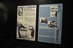 Robert H. Goddard - the Father of Modern Rocketry (lee.ekstrom) Tags: world travel ohio two heritage history robert museum modern race 1 war force space air father first korea vietnam viet national ii planes patterson wright pioneer base dayton rocketry nam goddard visionary robbert i roberthgoddard