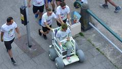 colours by the sea rolstoel (Omroep Zeeland) Tags: kleuren rolstoel