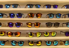 Shades (Percption is your reality) Tags: reflection sunglasses shades rows