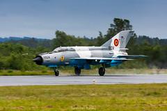 MiG-21 (Tuomas Tuisku) Tags: fighter 21 airforce lancer kuopio romanian mig efku tourdesky mikojangurevit