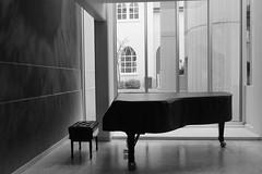 In the National Gallery of Iceland, Reykjavik (jkup) Tags: piano reykjavik