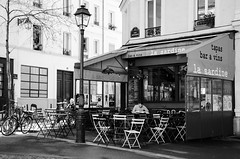 (Tom Plevnik) Tags: street new city travel people urban blackandwhite paris public monochrome photography nikon flickr outdoor candid places human bnw