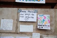 11 - Messages de paix et de solidarit au lendemain du 13 novembre. (AMToulouse) Tags: toulouse placeducapitole archivesmunicipales jesuischarlie 13novembre2015 tmoignagesattentats
