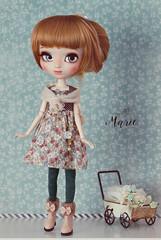 Marie (Mikiyochii) Tags: doll dolls ooak mio pullip custom fashiondoll pullips mikiyochii