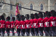 Guards Approaching for Inspection (Stephen Gardiner) Tags: ottawa ontario 2016 canadaday parliamenthill canada july1 celebration pentax k3ii 100300