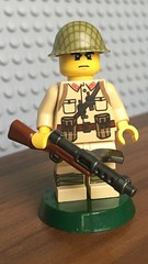 Japanese Soldier Type 100 Varient (CharlieCompanyProductions) Tags: wwii japenese citizenbrick brickarms