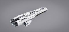 Antares Starship (Matt Mazian) Tags: lego space scifi spaceship starship moc antares