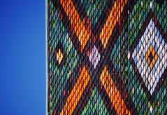 PoKEMon. (Warmoezenier) Tags: roof church colours cross kirche diagonal pokemon stgallen kerk kruis dakpan schweiss