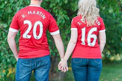 Keith has turned Joelle into a @manchesterunited fan! How cute are their matching 2016 jerseys?! More of their cuteness on the blog! Link in bio! #naweddings #nabrides #nacouples (Nicole Amanda Photography) Tags: wedding cute square photography fan blog photographer ottawa bio keith more link how joelle matching jerseys their cuteness turned engaged has manchesterunited weddingphotographer 2016 instagram naweddings nacouples nabrides