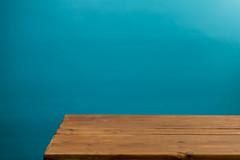 Blue and orange (fsm vpggru) Tags: wood blue orange studio table aqua minimal colorama