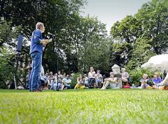 Jan Willem Anker op het theeveld
